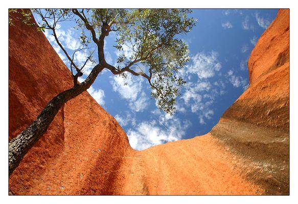 Uluru mal aus anderer Perspektive...