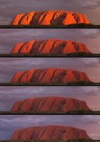Uluru - Sonnenuntergang