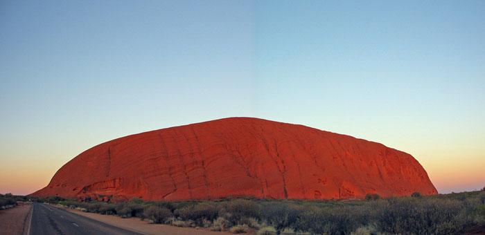 Uluru @ Sunset