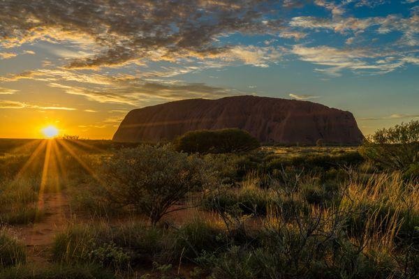 Uluru - und es wurde Licht