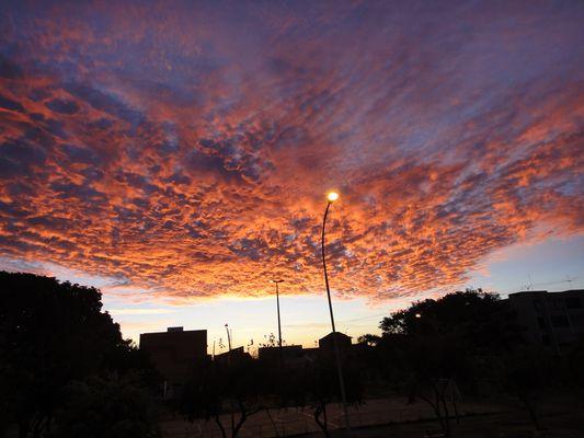 Um lindo amanhecer