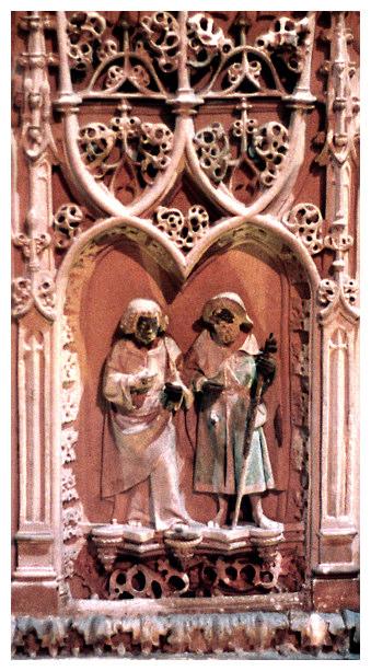 Um peregrino medieval (Caminho Português, 6)