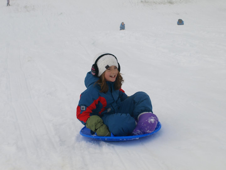 Uma en la nieve