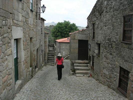 UmaTurista na Serra da Malcata