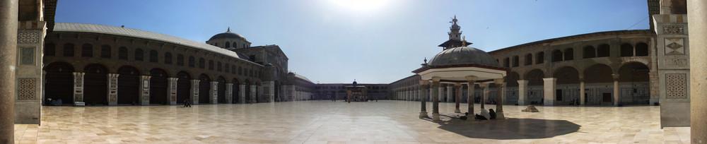 Umayyaden-Moschee Damaskus Pano