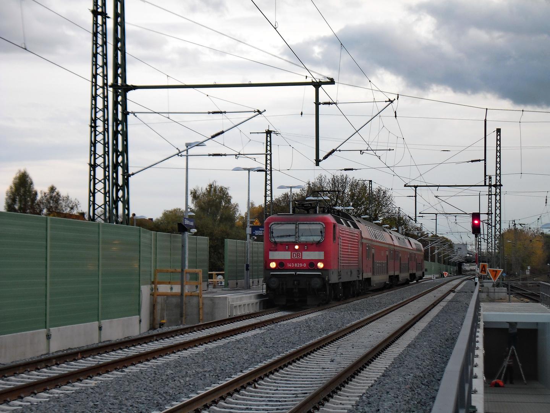 Umbau Bahnhof Böhlen