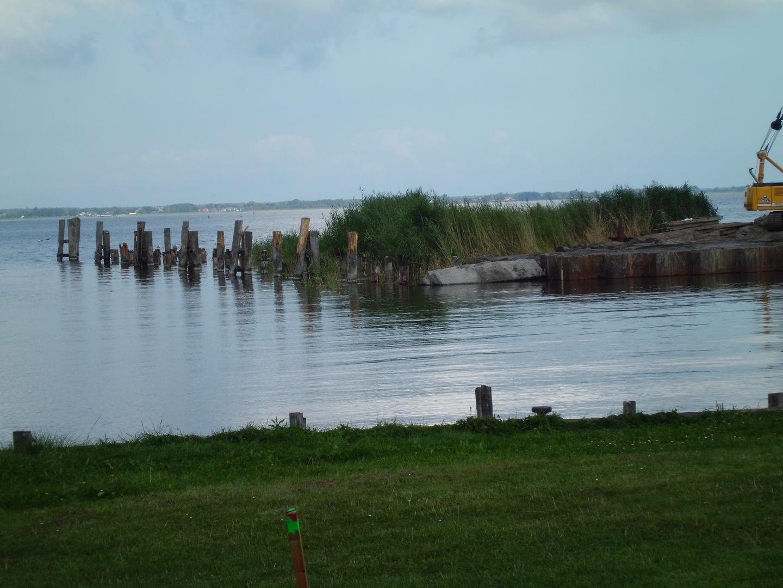 Umbau des Hafens in Bodtstedt