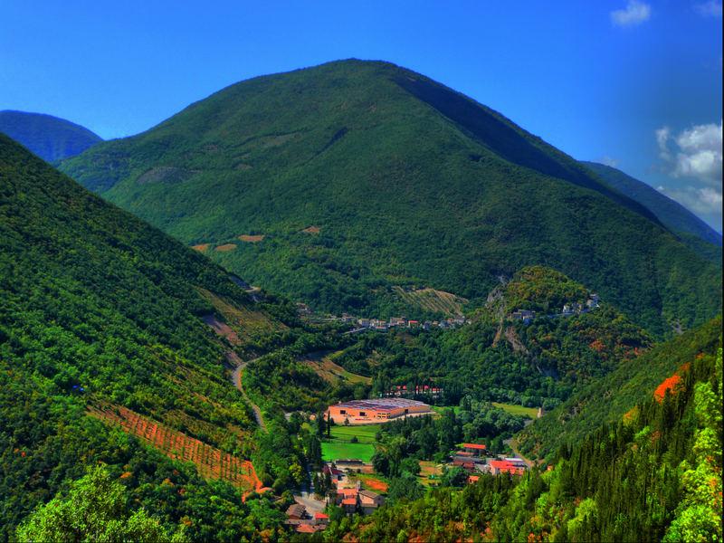 Umbria, Valnerina