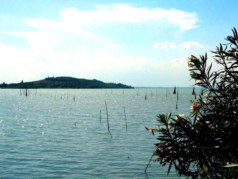 Umbrien - Lago Trasimeno - la isola polvese