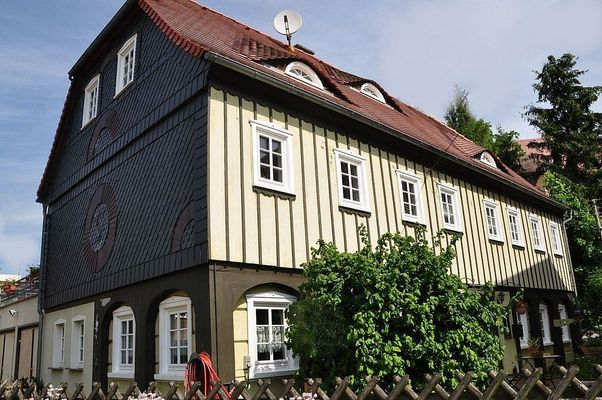 Umgebindehaus in Seifhennersdorf