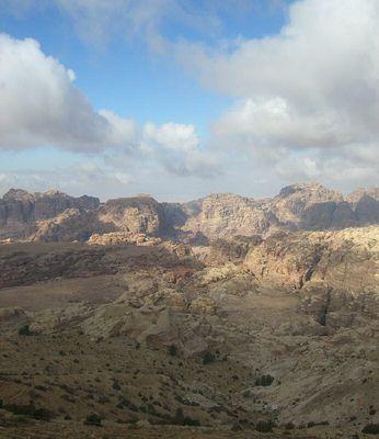 Umgebung von Petra