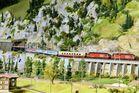 Umleiter EC 13 Milano C nach Nürnberg kurz vor Brig CH