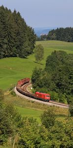 Umleiter-Güterzug