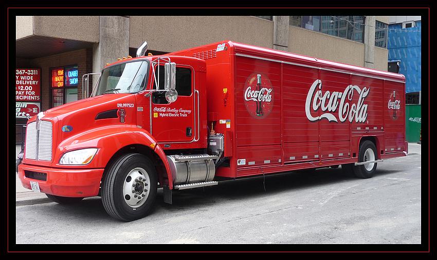 Umweltfreundliche Coca Cola Lieferung in Toronto