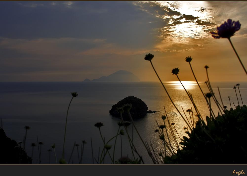 ... un altro tramonto ...
