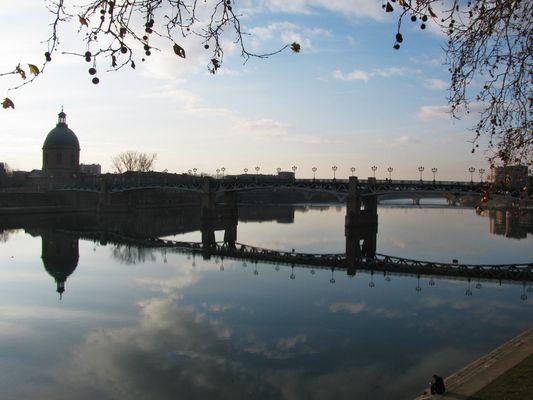 Un après-midi d'hiver à Toulouse