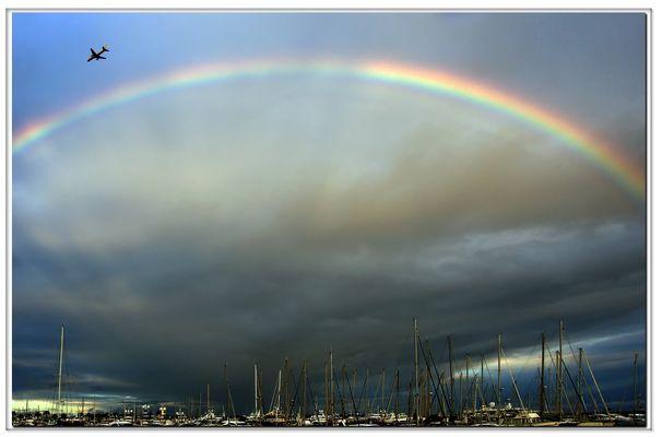 un  arcobaleno...