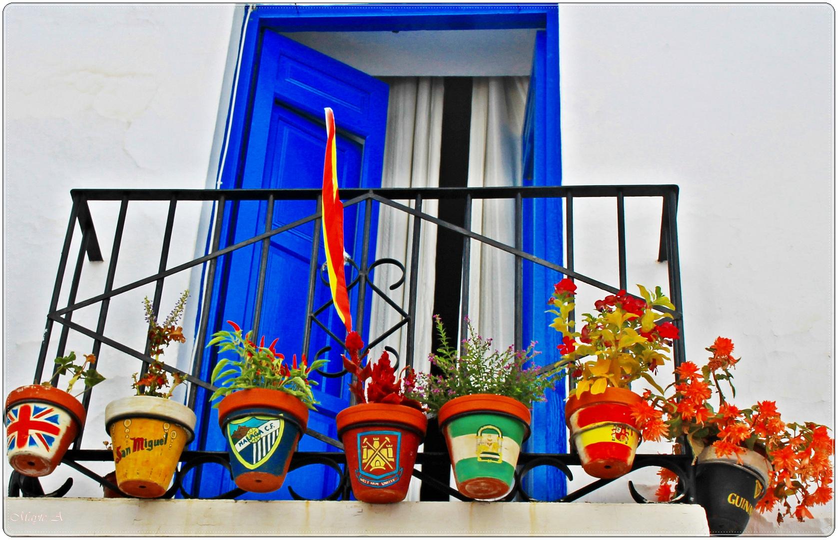 """Un balcón de """"Bandera""""...."""