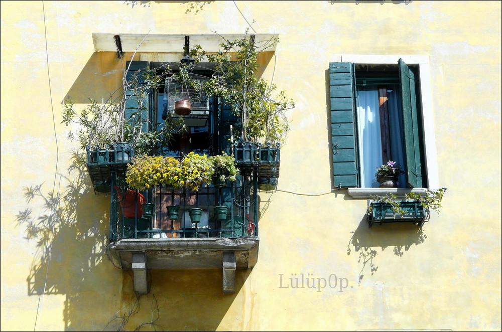 Un balcone di Venezia