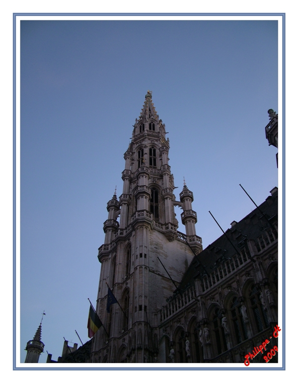 un batiment de la grand place de Bruxelles