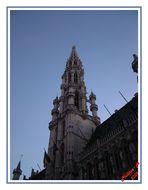 un batiment de la grand place de Bruxelles