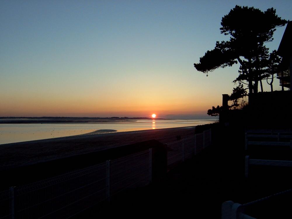 Un beau coucher de soleil