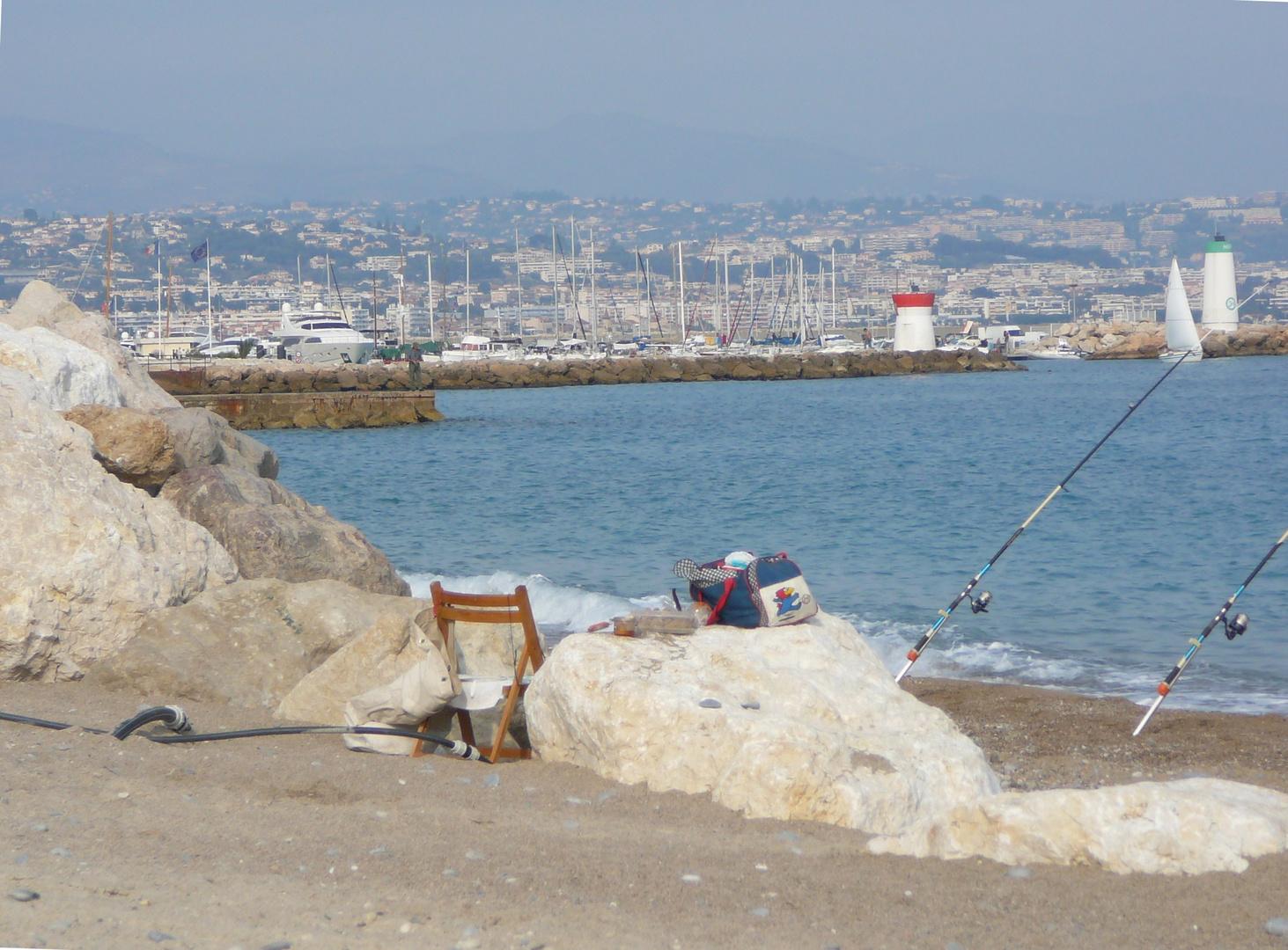 un bel apres-midi d ' Octobre sur la Cote d ' Azur