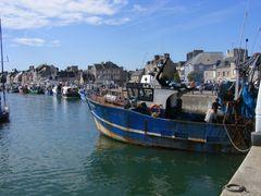 Un bel porticciolo in Normandia