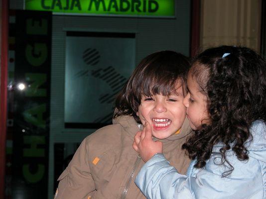 un beso para mi hermano