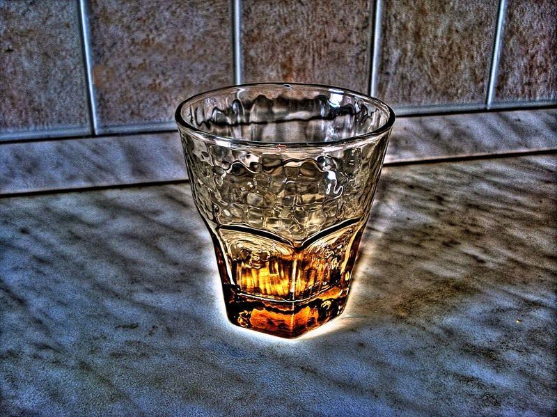 Un bicchiere