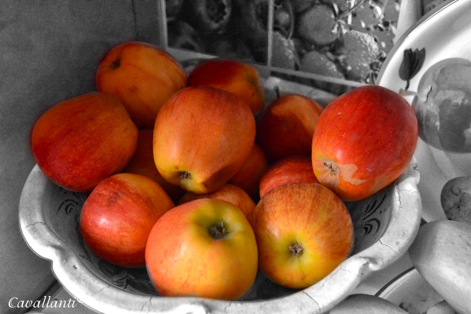 Un buen cuenco de Manzanas