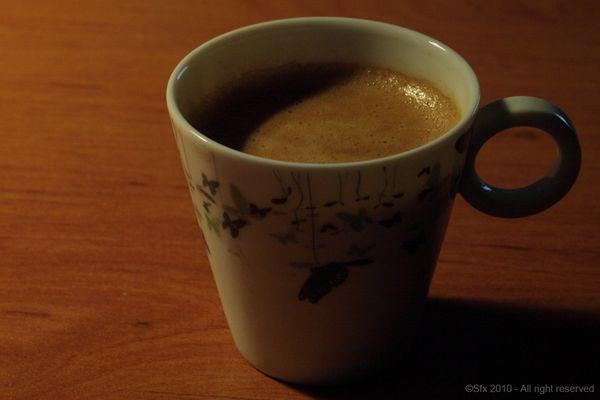 ... un café ?...