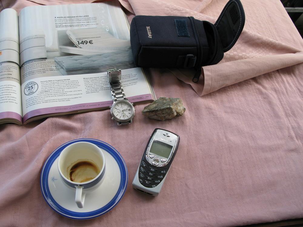 un café un dimanche