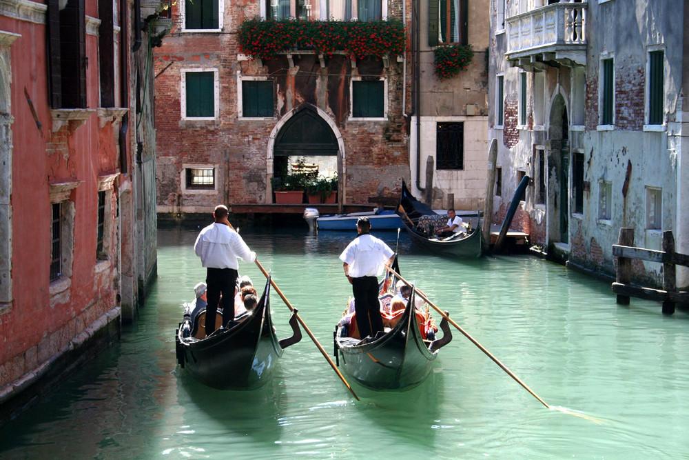 Un canal à Venise