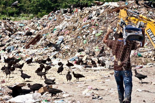 Un carga de contaminación