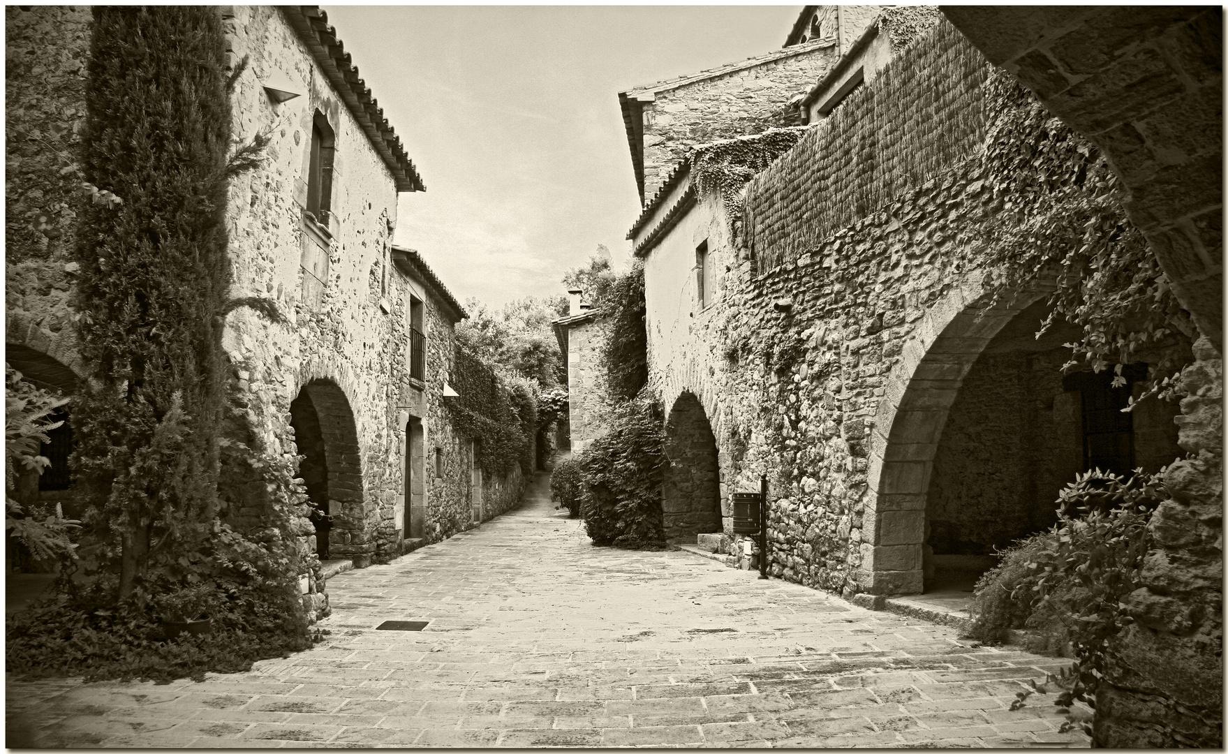 Un carrer medieval