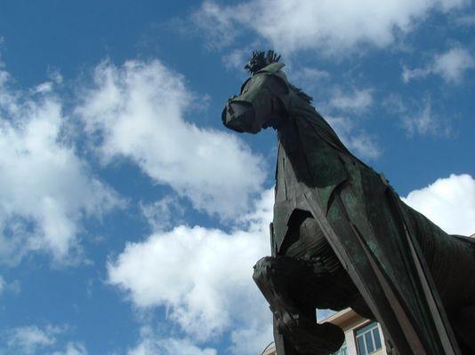 Un cavallo di bronzo