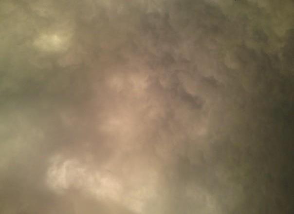 un ciel d'orage