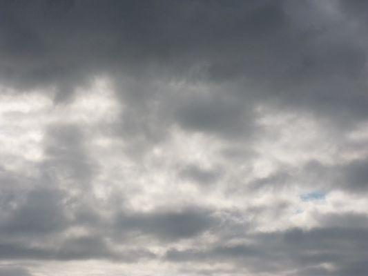 Un ciel orageux.