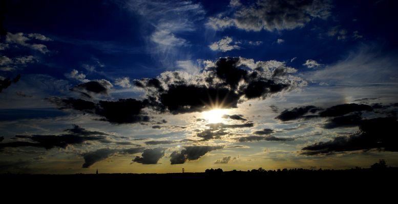 Un ciel sans nuages, c'est tellement plat!