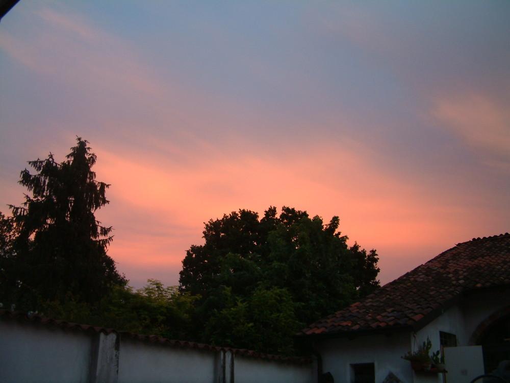 un cielo a colori...