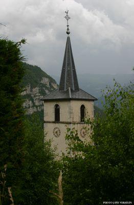 Un clocher en Chartreuse, Savoie