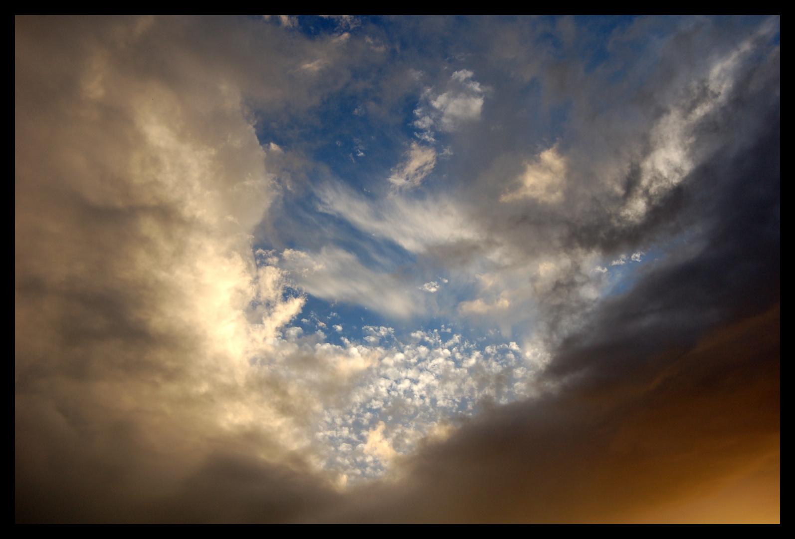 un coin de ciel bleu