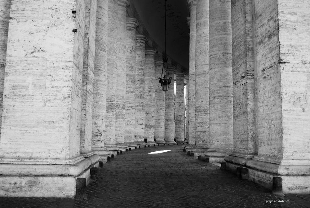 un colonnato famoso