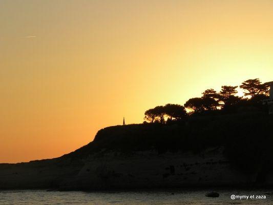 Un couche de soleil en Charente maritime