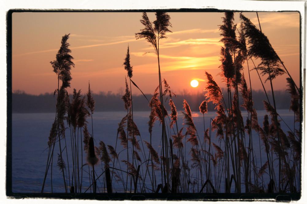 un coucher de soleil pour une étoile!