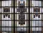 Un des grands vitraux de la gare de Limoges-Bénédictins