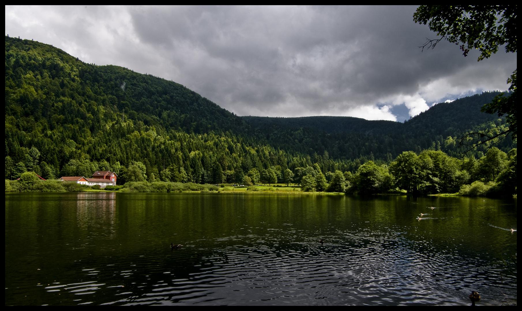 un des nombreux lac des vosges :D