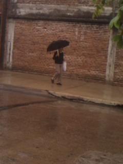 Un día de lluvia