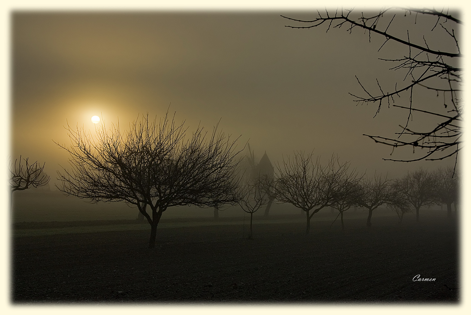 Un día de niebla... (DEDICADA A IÑAKI MATURANA Y BEGO)